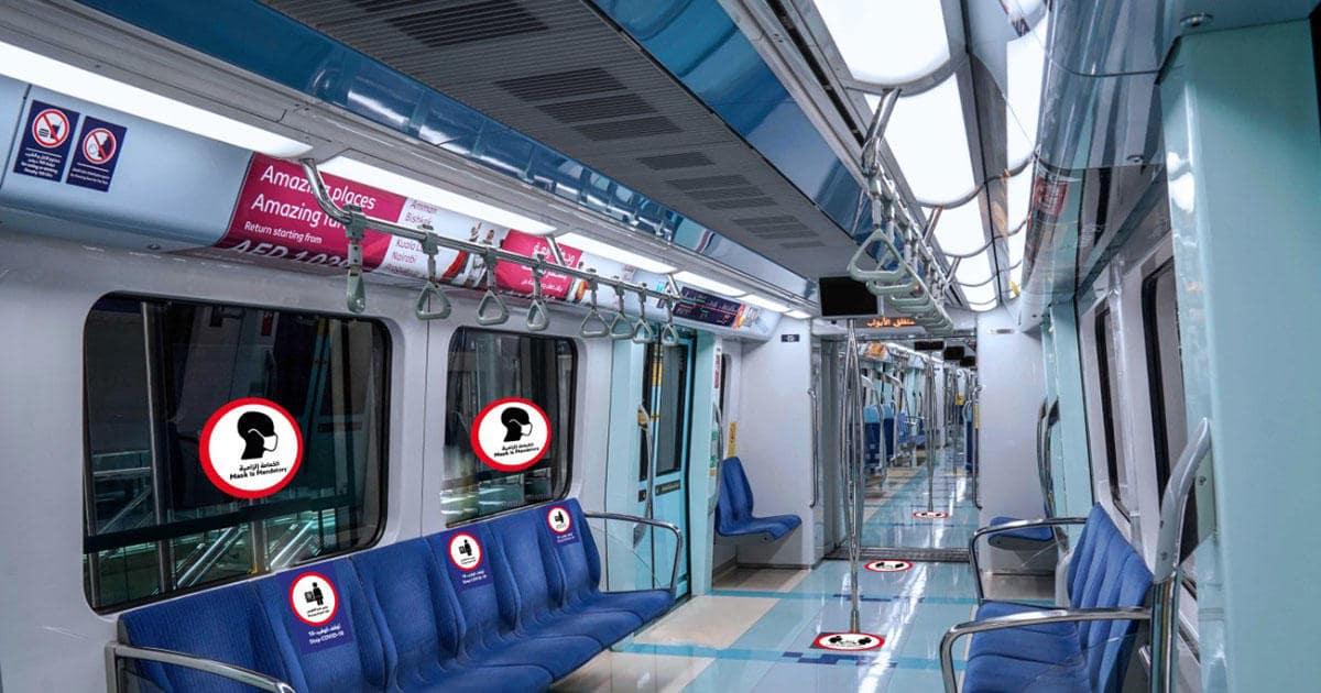 public-transport in Dubai
