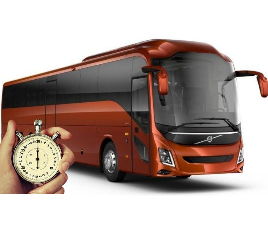 With charted bus services you will always be on time